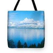 South Lake Tahoe In Winter, California Tote Bag