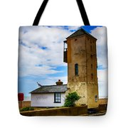 South Lookout Tower Aldeburgh Beach Tote Bag