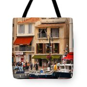 South Of France Fishing Village Tote Bag