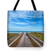 South Padre Island Walkway Tote Bag