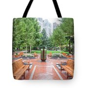 South Plaza Fountain Tote Bag
