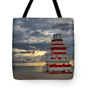 South Pointe Park Lighthouse Tote Bag