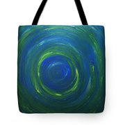 South Pole Of Saturn Tote Bag