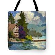 South Shore Big Bear Lake Tote Bag