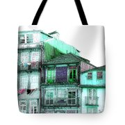 South Side Of Town-featured In Old Buildings And Ruins Group Tote Bag