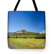 South Sister And Highway Tote Bag