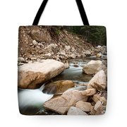 South St Vrain Canyon Autumn View Tote Bag