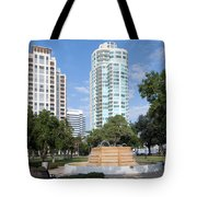 South Straub Park St Petersburg Florida Tote Bag