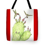 South Texas Nopales For Breakfast Tote Bag