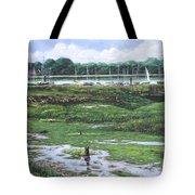 Southampton River Hamble Tote Bag