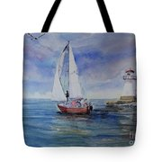 Southampton Wind Tote Bag