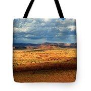 Southeastern Utah Desert Panoramic Tote Bag