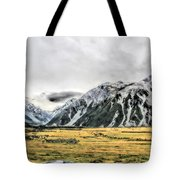 Southern Alps Nz Tote Bag