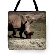 Southern Black Rhino Tote Bag