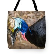 Southern Cassowary Portrait Tote Bag
