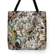 Southern Celestial Planisphere 1790 Tote Bag