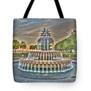 Southern Charm Pineapple Tote Bag