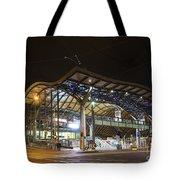 Southern Cross Rail Station In Melbourne Australia Tote Bag