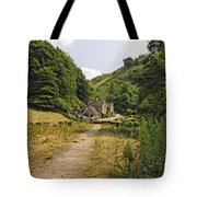 Southern End Of Wolfscote Dale Tote Bag