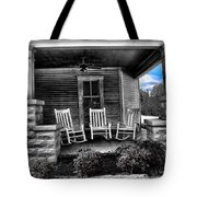 Southern Front Porch 1 Tote Bag