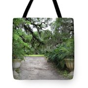 Southern Garden Welcome Tote Bag
