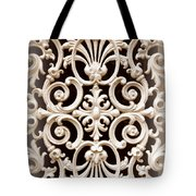 Southern Ironwork In Sepia Tote Bag