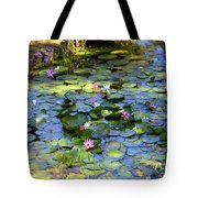 Southern Lily Pond Tote Bag