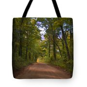 Southern Missouri Country Road II Tote Bag
