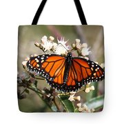 Southern Monarch Butterfly Tote Bag