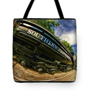 Southern Pacific 2472 Steam Engine 1921 Sunol Station Tote Bag