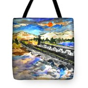 Southern River Dam Tote Bag