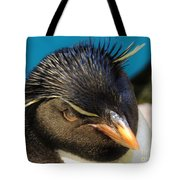 Southern Rock Hopper Penguin Tote Bag