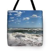 Southern Shores Splash Tote Bag