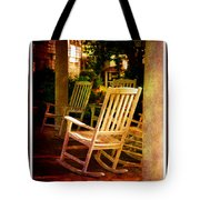 Southern Sunday Afternoon Tote Bag by Susanne Van Hulst