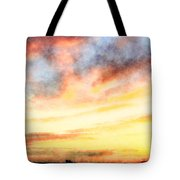 Southern Sunset - Digital Paint Iv Tote Bag