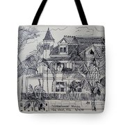 Southernmost House  Key West Florida Tote Bag