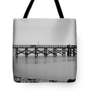 Southport Fishing Pier Tote Bag