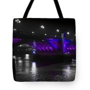 Southwark Bridge London Tote Bag