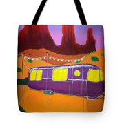 Southwest Contemporary Art - Sedona Twilight Tote Bag