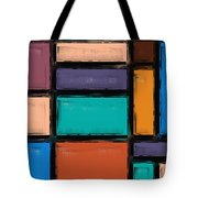 Southwest Home And Garden Color Block Tote Bag