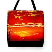 Southwest Sunset Tote Bag by Robert Bales