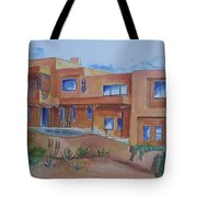 Southwestern Home Illustration Tote Bag