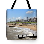 Southwold Beach 2 Tote Bag