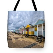 Southwold Beach Huts 4 Tote Bag