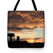 Water Towers On Southwold Common Tote Bag