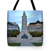 Soviet Red Army Monument Budapest Hungary Tote Bag