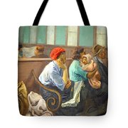 Soyer's A Railroad Station Waiting Room Tote Bag