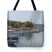 Sozopol Harbour Bulgaria. Tote Bag