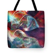 Space Bubble Tote Bag