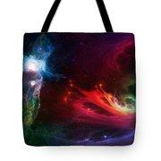 Space Cat Angel - 1 Tote Bag by Julie Turner